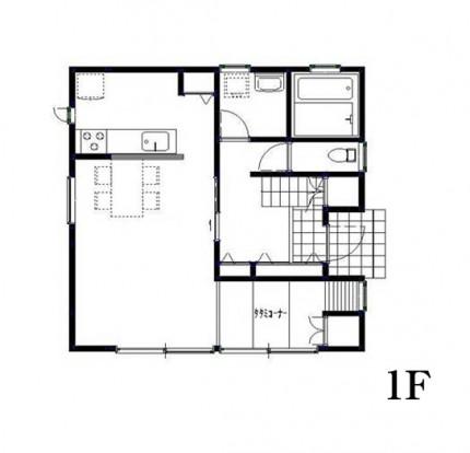 1F 見取り図|郡山市 デザイン住宅 大原工務店の商品ラインナップ