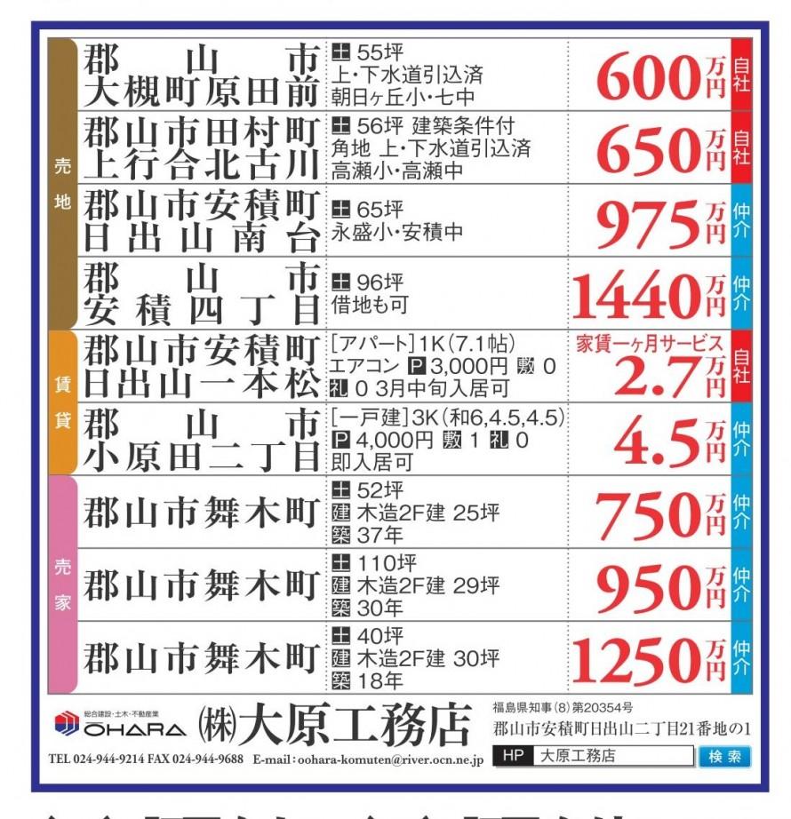 福島県不動産情報(売地・売家・賃貸)全日本不動産協会福島県ニュース