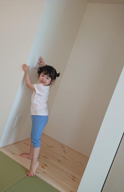 お子様が楽しそうに遊んでいました! 本宮市仁井田T様邸| 郡山市 新築住宅 大原工務店のブログ