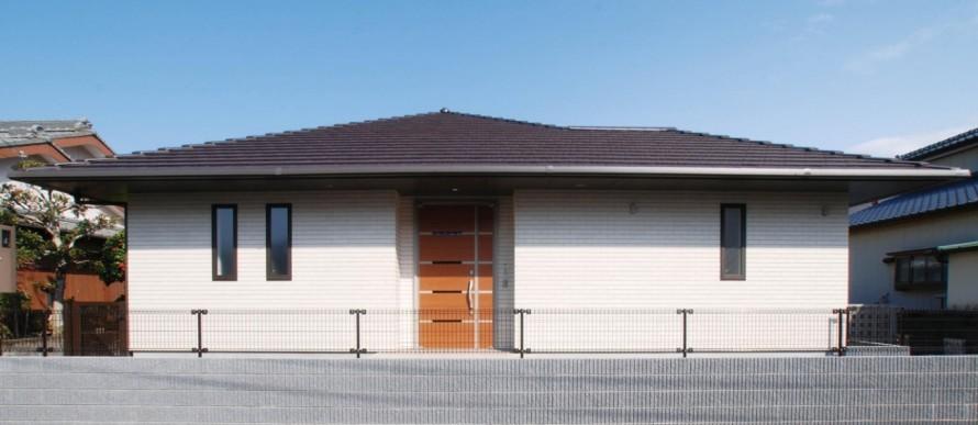 日本の伝統的な家「平屋」で暮らす贅沢な時間-外観-|郡山市 注文住宅 大原工務店の施工例