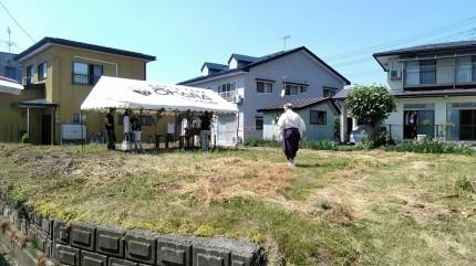 コチラの土地で新築工事が始まります。福島県会津若松市|郡山市 新築住宅 大原工務店のブログ