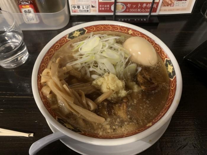 先日食べた角煮ラーメンです。須賀川市森宿| 郡山市 新築住宅 大原工務店のブログ