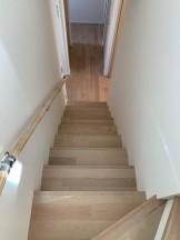 大原工務店で建てている新築注文住宅のオシャレな階段です。郡山市昭和| 郡山市 新築住宅 大原工務店のブログ