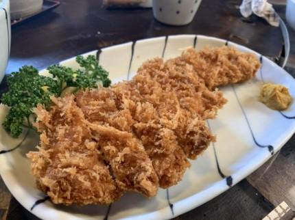 仁亭のとんかつを食べてきました。郡山市鶴見坦| 郡山市 新築住宅 大原工務店のブログ