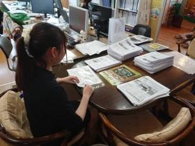 ニュースレター発送準備|郡山市 新築住宅 大原工務店のブログ