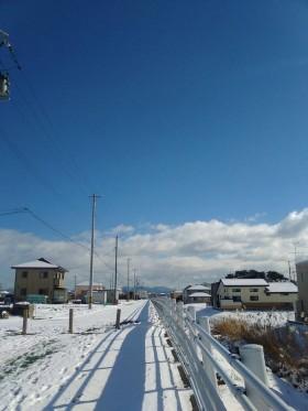 郡山市大槻町で撮影 天気が良い!