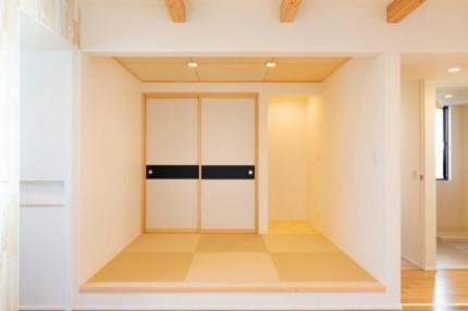 大原工務店で建てていただいたK様邸にかわいい和室があります。本宮市葭ヶ入| 郡山市 新築住宅 大原工務店のブログ