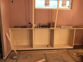 造作のカウンターです 郡山市富田町 | 郡山市 新築住宅 大原工務店のブログ