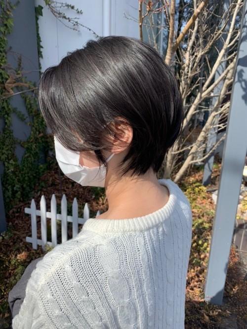 先日髪を切った時に取ってもらった写真です。  郡山市 新築住宅 大原工務店のブログ