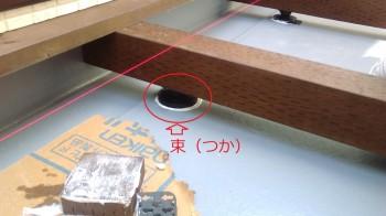 須賀川市 H様邸 新築住宅の2階ウッドデッキが完成いたしました。