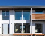 敷地のロケーションから間取りと窓の構成を決定する家-外観- 郡山市 注文住宅 大原工務店 施工例