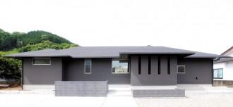 回遊性のある間取りで居心地のよいワンフロア|郡山市 注文住宅 大原工務店 施工例