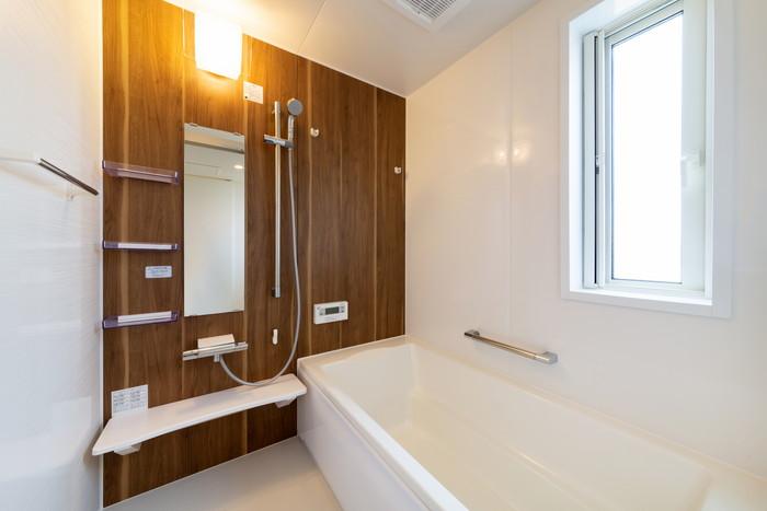 モデルハウス「ライフボックス」のお風呂です。郡山市安積町  郡山市 新築住宅 大原工務店のブログ