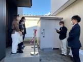 工務の司会で引渡式が進んでいきます!| 郡山市 新築住宅 大原工務店のブログ