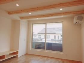 二世帯住宅会場リビング| 郡山市 新築住宅 大原工務店のブログ