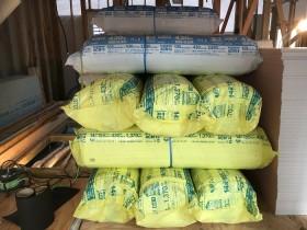 断熱材のアクリアです 郡山市亀田 | 郡山市 新築住宅 大原工務店のブログ