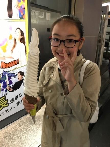 日本一長いソフトクリーム|郡山市 新築住宅 大原工務店のブログ
