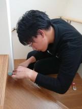 会津若松市R様邸の傷チェックをしている星です。| 郡山市 新築住宅 大原工務店のブログ