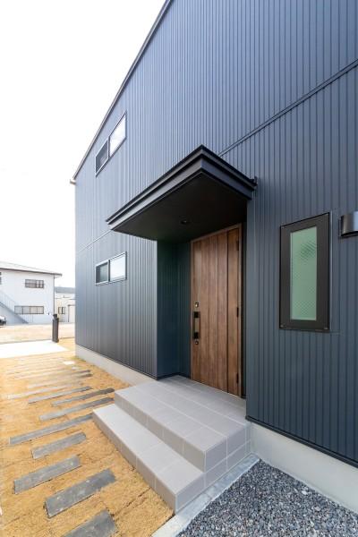 「ライフボックス」外壁|郡山市 新築住宅 大原工務店のブログ