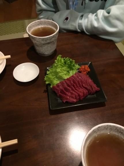 会津若松市で馬刺しを食べました。福島県会津若松市| 郡山市 新築住宅 大原工務店のブログ