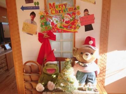 大原工務店内もすっかりクリスマス仕様です。| 郡山市 新築住宅 大原工務店のブログ