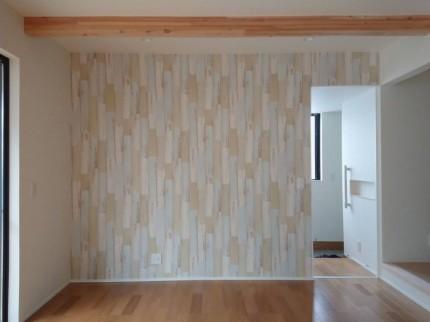 リアルなウッド調クロスです。本宮市| 郡山市 新築住宅 大原工務店のブログ