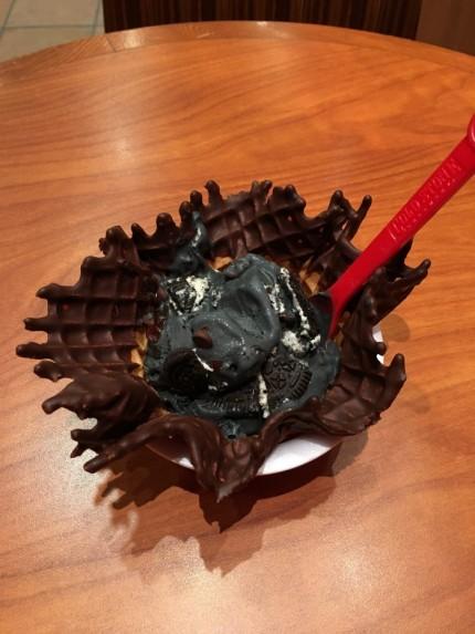 コールドストーンでハロウィーン限定のアイス食べました。| 郡山市 新築住宅 大原工務店のブログ
