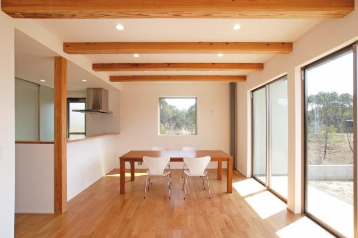 郡山市大原工務店施工例「シンプルな白いキューブの家」|郡山市 注文住宅 大原工務店の施工例