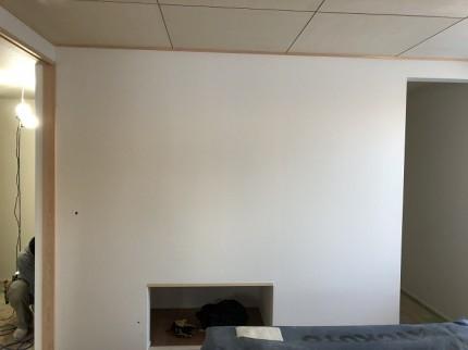 クロス施工しました 郡山市富田町 | 郡山市 新築住宅 大原工務店のブログ