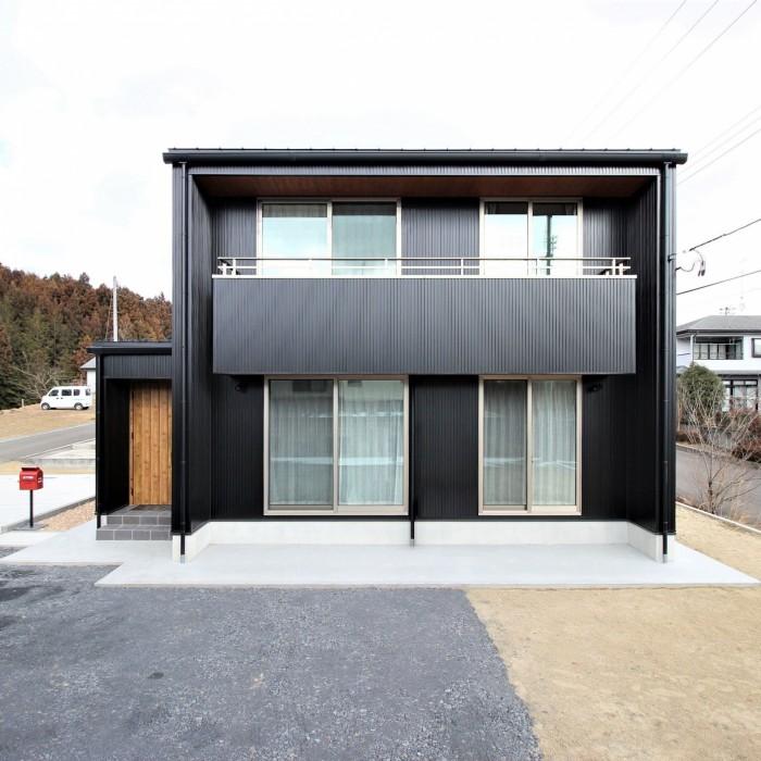 オシャレなキューブのお家です。| 郡山市 新築住宅 大原工務店のブログ