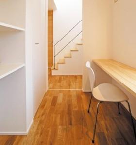 狭い空間を使って家事や趣味スペースに|郡山市 デザイン住宅 大原工務店の商品ラインアップ