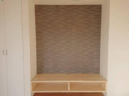 郡山市富田町Y様邸のテレビボードです。| 郡山市 新築住宅 大原工務店のブログ