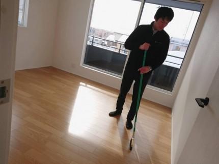 郡山市安積町にあるモデルハウスの掃除をしてきました!| 郡山市 新築住宅 大原工務店のブログ