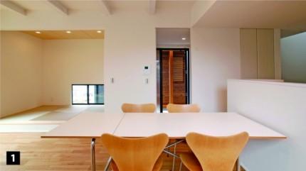 リビングダイニングキッチン+和室|郡山市 注文住宅 大原工務店のブログ