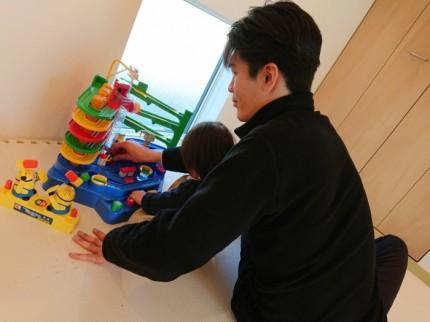 大原工務店では、スタッフがお子様と遊ばさせて頂きますので、ゆっくりお家をご覧になれます。| 郡山市 新築住宅 大原工務店のブログ