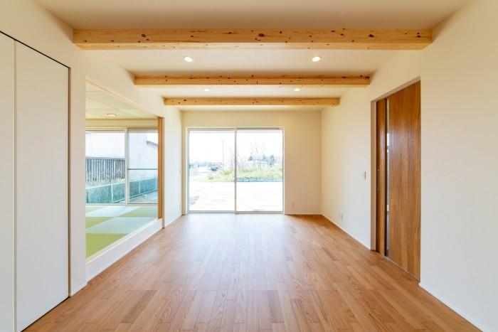 M様邸のリビングルームです!| 郡山市 新築住宅 大原工務店のブログ
