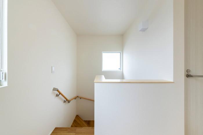 階段の仕上がりイメージです。郡山市安積町  郡山市 新築住宅 大原工務店のブログ