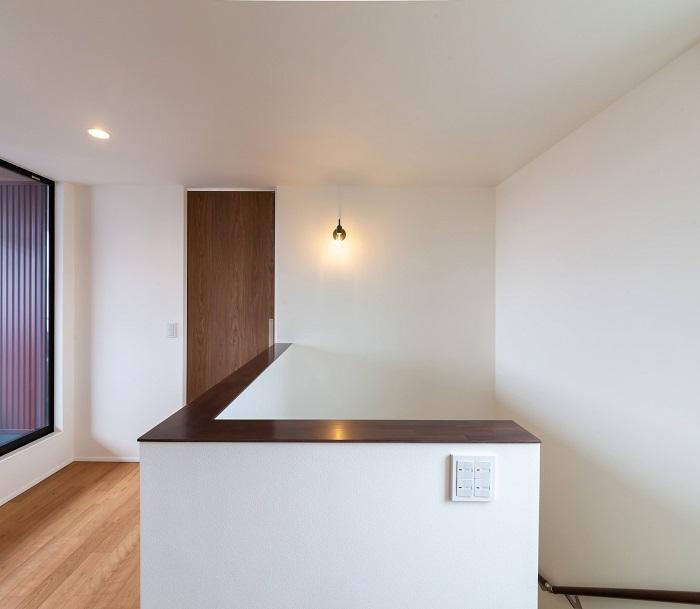大原工務店で新築注文住宅建築中K様邸、階段仕上がりイメージです。郡山市安積町  郡山市 新築住宅 大原工務店のブログ