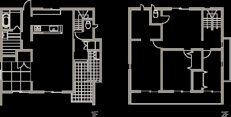 バランスとディテールを整えたシンプルで美しい住まい-間取り-|郡山市 注文住宅 大原工務店の施工例