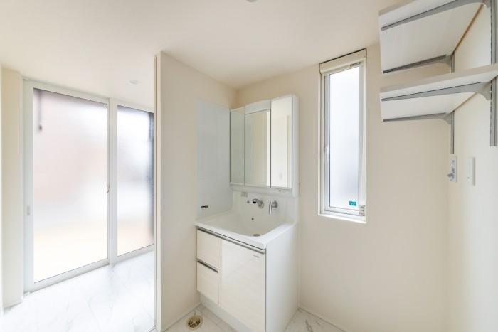 H様邸の洗面所です!  郡山市 新築住宅 大原工務店のブログ