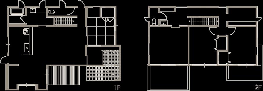開放的な室内空間と木目が美しい上質な住まい-間取り図-|郡山市 注文住宅 大原工務店の施工例