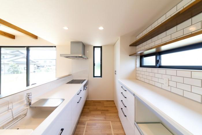 須賀川市K様邸のキッチンです!| 郡山市 新築住宅 大原工務店のブログ