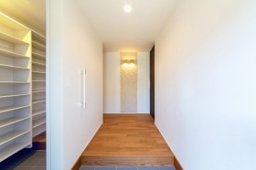 W様邸の玄関です!  郡山市 新築住宅 大原工務店のブログ