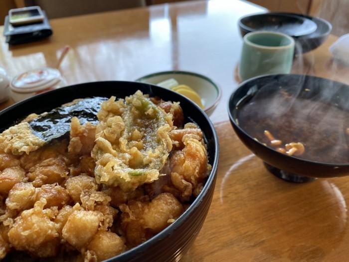 天ぷら佐久間のかき揚げ丼です。郡山市富田| 郡山市 新築住宅 大原工務店のブログ