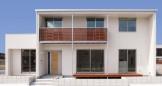 耐震性を高めたおしゃれで機能的・経済性に優れた高品位住宅-外観-|郡山市 注文住宅 大原工務店の施工例