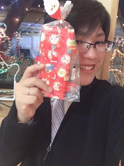 I様からクリスマスプレゼントをもらいました。岩瀬郡鏡石町| 郡山市 新築住宅 大原工務店のブログ