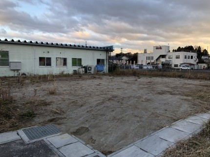 こちらの土地に、新築注文住宅が建ちます。田村市船引町|郡山市 新築住宅 大原工務店のブログ