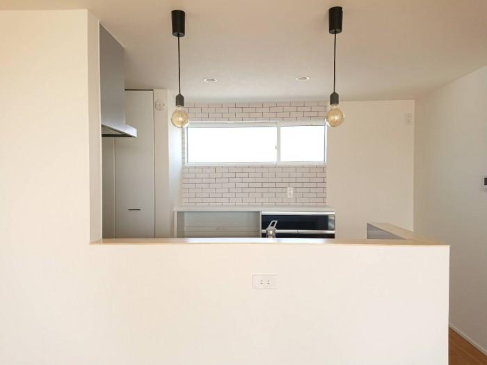 須賀川市森宿M様邸のキッチンです。| 郡山市 新築住宅 大原工務店のブログ