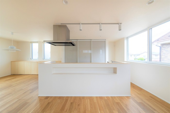 H様邸のキッチンです!  郡山市 新築住宅 大原工務店のブログ