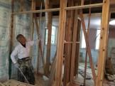 和室の細かい高さの打ち合わせをしました。田村郡三春町|郡山市 新築住宅 大原工務店のブログ